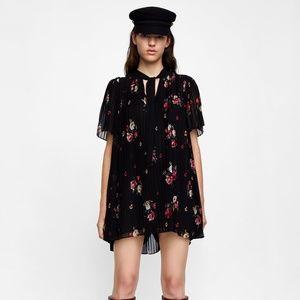 3bb5a45e Zara Dresses | Pleated Jumpsuit Dress | Poshmark